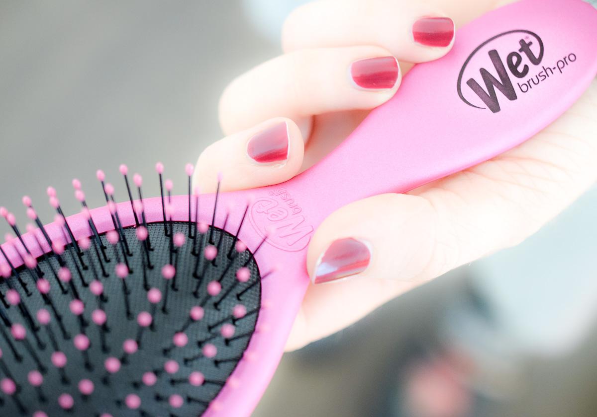 Wet Brush Bürste Haare entwirren Tipps und Tricks für schöne Haare