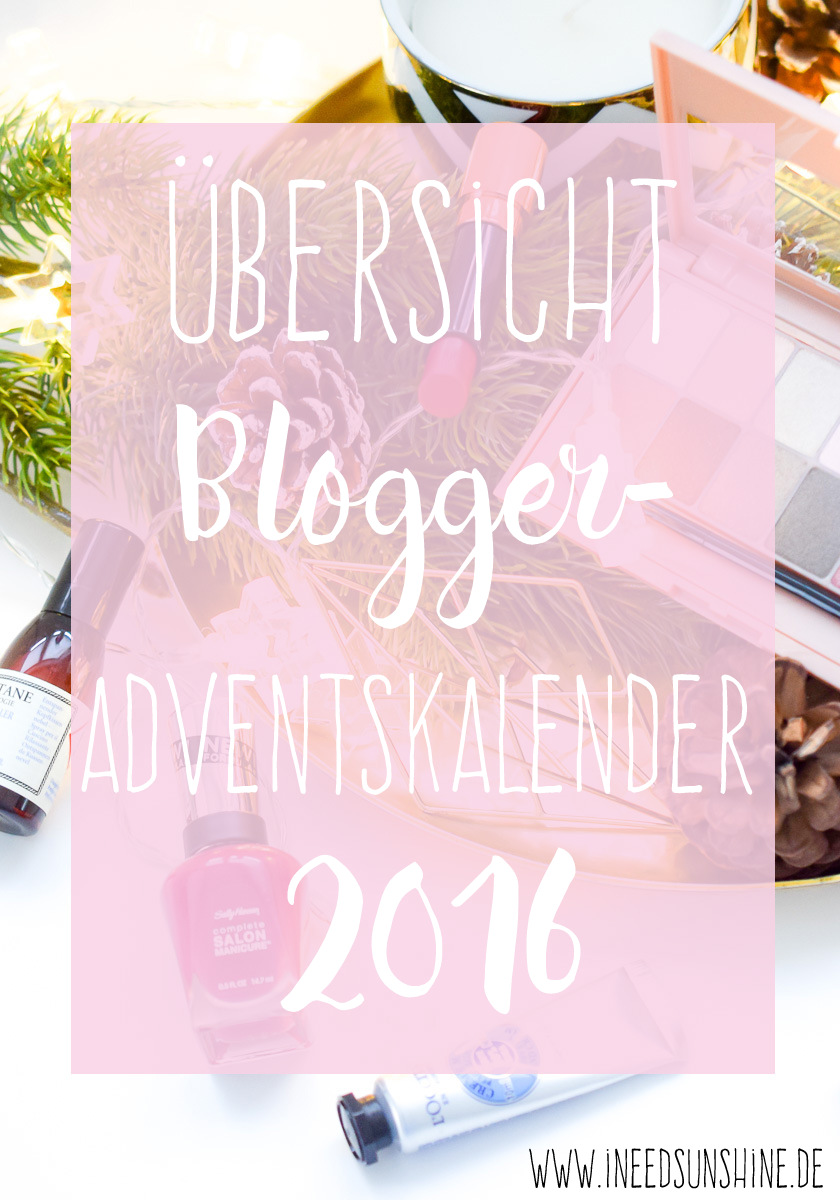 blogger adventskalender 2016 bersicht blog gewinnspiele. Black Bedroom Furniture Sets. Home Design Ideas