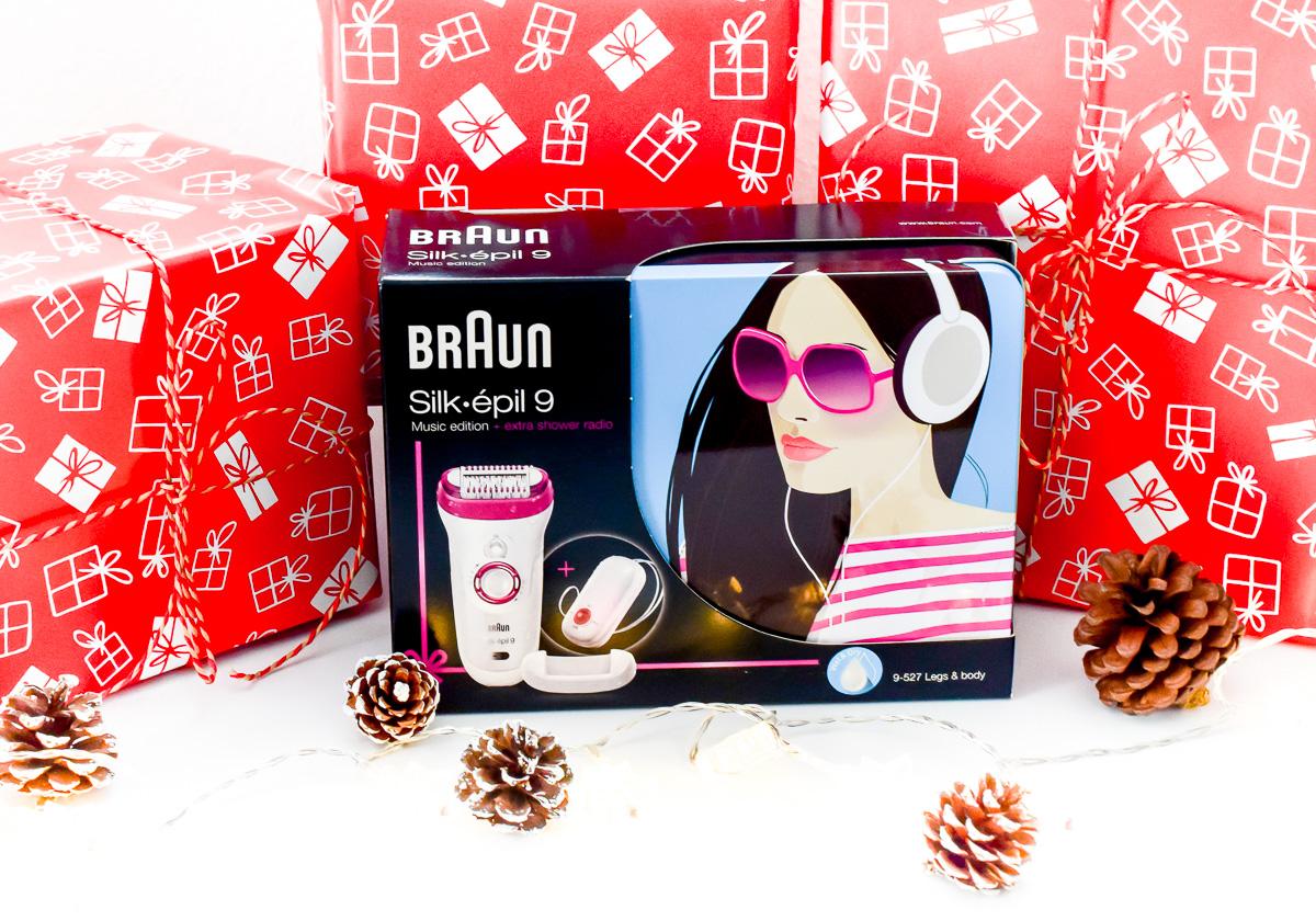 Blog-Gewinnspiel: Braun Silk-épil 9 Epilierer Music Edition als Weihnachtsgeschenk für Mütter