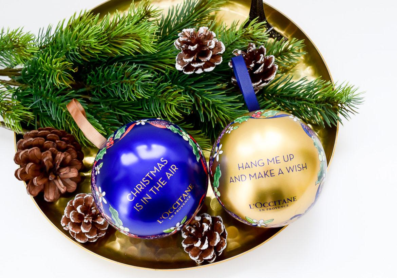 L'Occitane Weihnachtskugeln Inhalt Beauty Blogger Gewinnspiel Dezember