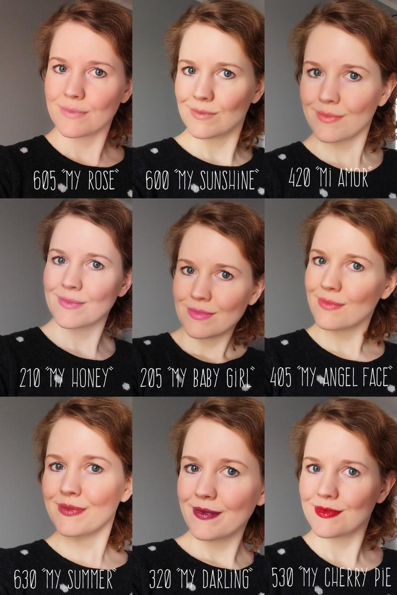 Astor Soft Sensation Shine & Care: Tragebilder, Neue Astor Lippenstifte natürlicher Look auf I need sunshine Beautyblog