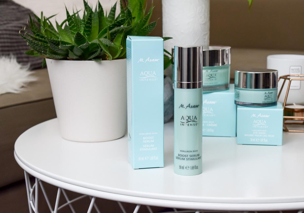 M.ASAM Aqua Intense Hyaluron Rich Boost Serum M.Asam Aqua Intense Test Ergebnisse und Erfahrungen auf I need sunshine Beautyblog