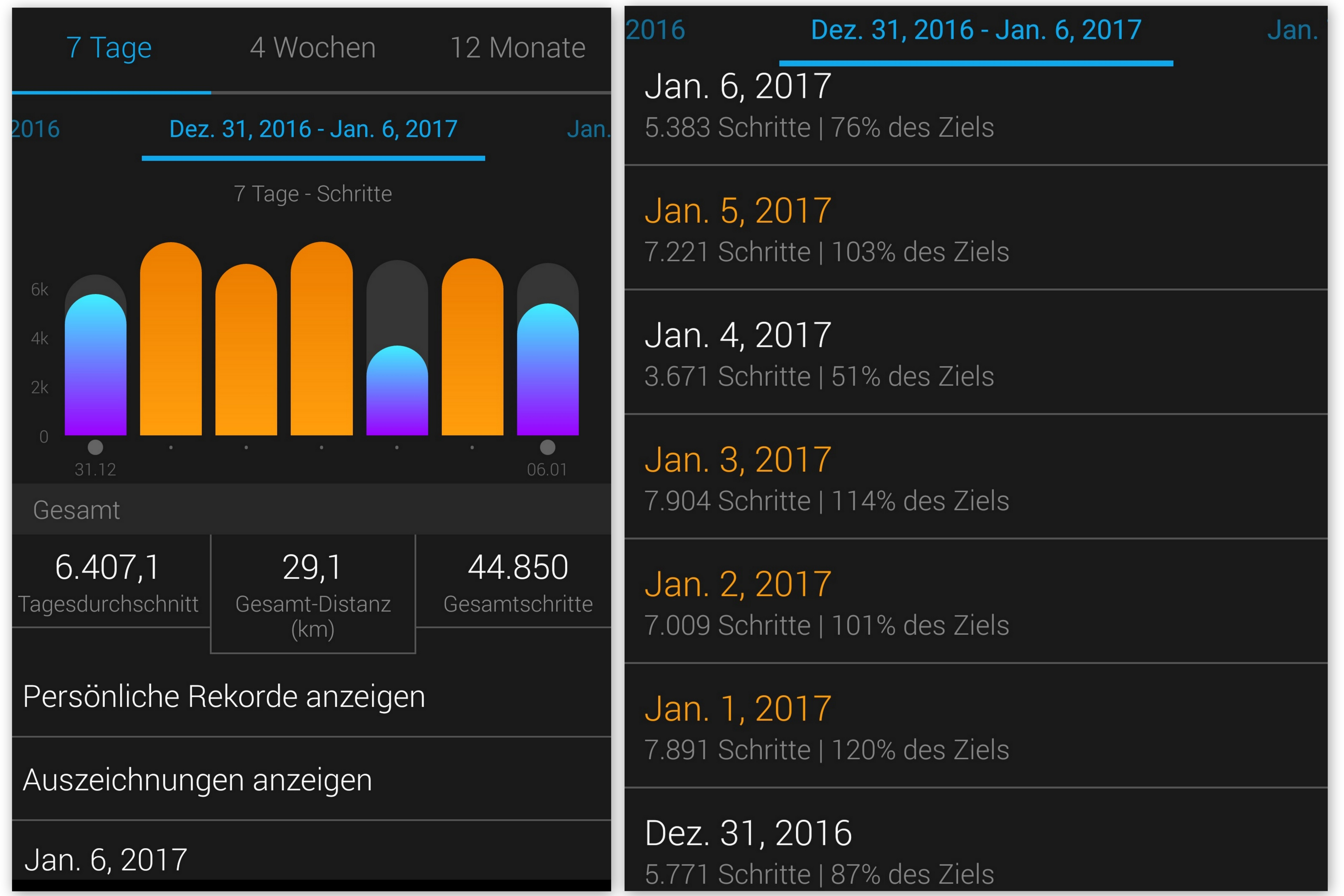Schrittzähler Uhr Fitness Armband Wie viele schritte am Tag mit dem Garmin Connect Garmin Vivofit und der Mobile App für das Smartphone