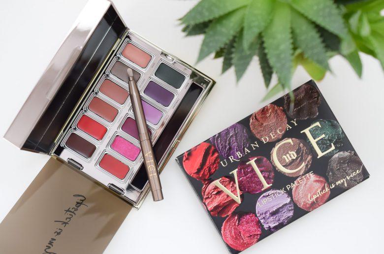 Urban Decay Vice Lipstick Palette Junkie im Test Erfahrungen Review auf Beautyblog mit den Urban Decay Lippenstiften