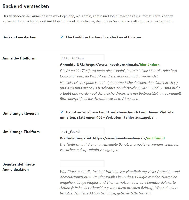 iThemes Security Plugin für WordPress: Backend verstecken WordPress Sicherheit erhöhen und WordPress Blog schützen vor Hacking und Viren