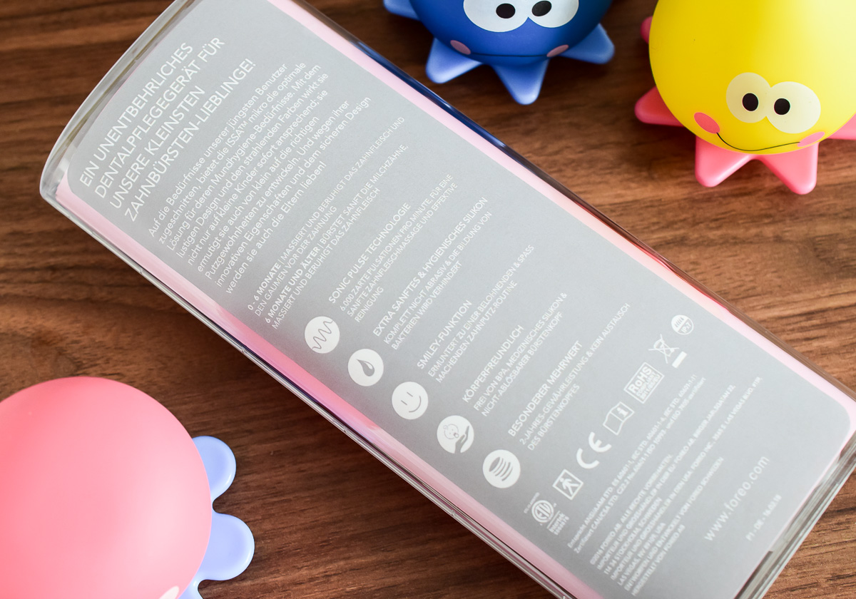 Elektrische Kinderzahnbürste für Babys und Kleinkinder im Test Foreo Zahnbürste Foreo Issa Mikro Erfahrungen