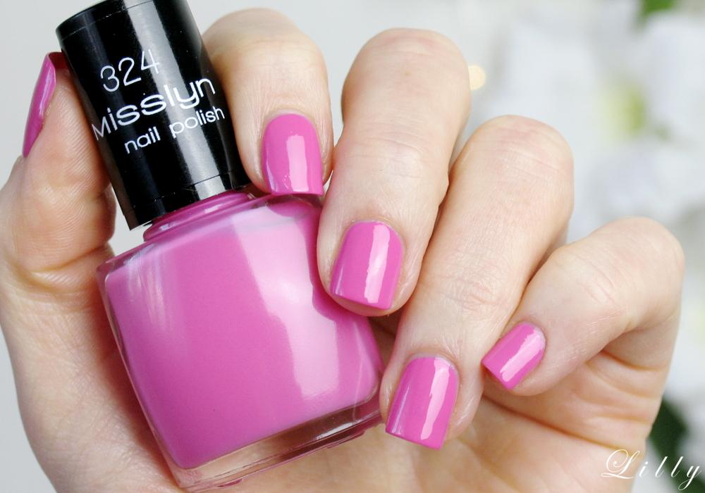 Misslyn Nagellacke My Shiny Pink Beauty Workout Kollektion Tragebilder Erfahrungen und Test Bericht in der Beautyblogger Review auf I need sunshine