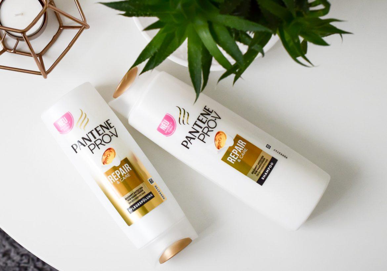 Pantene Pro-V Repair & Care Smart Pro-V Formel Erfahrungen mit Shampoo und Spülung in der Beautyblogger Review