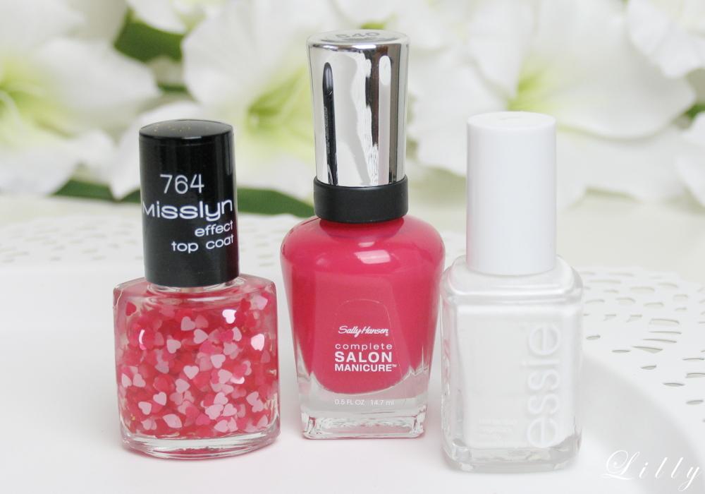 Pinke Nagel Mit Herzen Valentinstag Nageldesign Mit Anleitung
