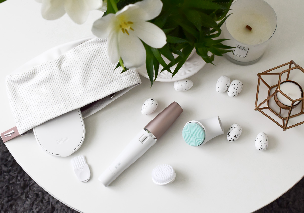 Braun FaceSpa Gesichtsepilierer mit Gesichtsbürste und Massge-Aufsatz für Gesichtsmassage im Beauty Test auf I need sunshine Beautyblog