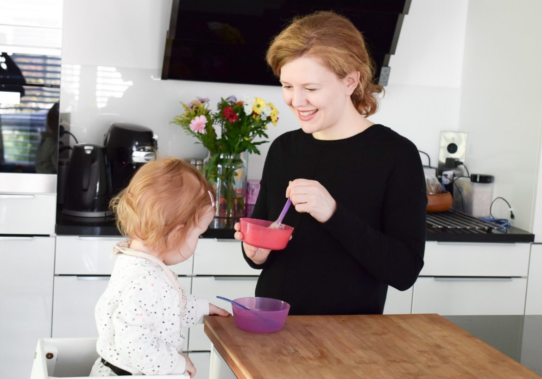 kidztower Erfahrungen mit dem Montessori Lernturm für Kleinkind auf Familienblog I need sunshine
