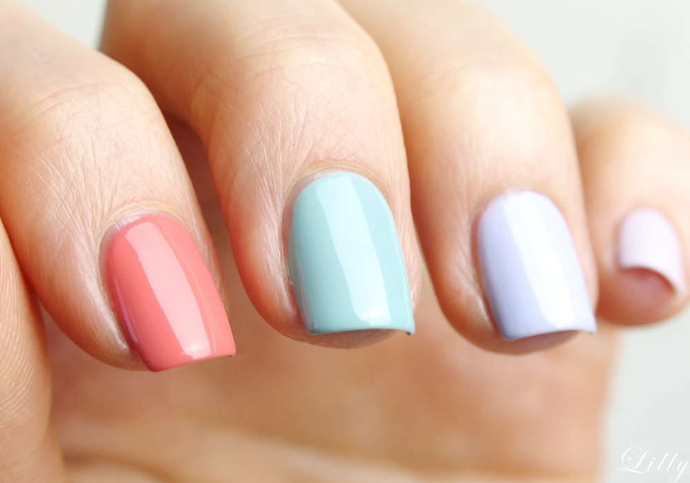 Astor Nagellacke Quick and Shine Test Erfahrungen und viele Bilder der schönen Nagellack Farben für den Frühling von Astor in der Beautyblogger Review