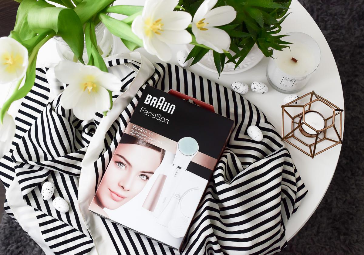 Braun FaceSpa Tiefenmassage Pad Gesichtsbürste für Gesichtsreinigung Beautyblogger Erfahrungen im Beauty Test auf I need sunshine