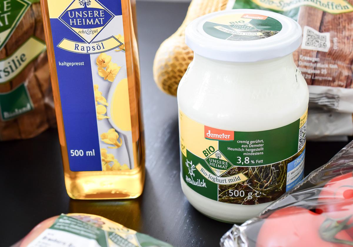 Edeke Unsere Heimat Echt und Gut mit Regionalität Rückverfolgbarkeit Regionale Lebensmittel nach Saisonkalender Bio-Lebensmittel für mehr Nachhaltigkeit