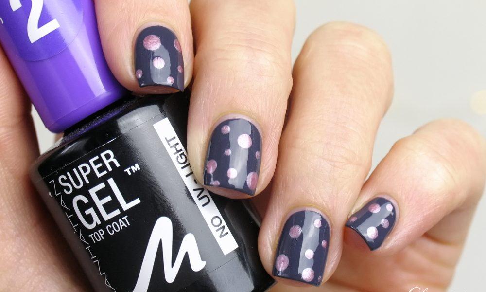 Manhattan Super Gel Nail Polish: Nageldesign mit Punkten mit Manhattan Nagellacken und Tutorial Nailart Dots