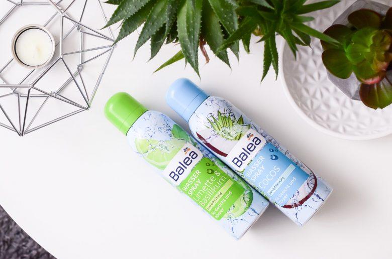 Balea Wasserspray Cocos Limette Basilikum Erfrischendes Aqua Spray dm Drogerie für Gesicht und Körper im Sommer