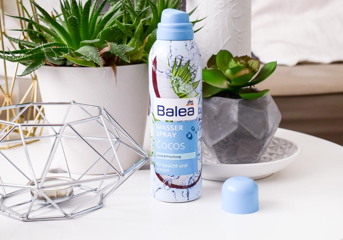 Balea Wasserspray Cocos Limette Basilikum Erfrischendes Aqua Spray dm Drogerie Wasser Spray für Gesicht und Körper im Sommer bei dm kaufen Make up fixieren