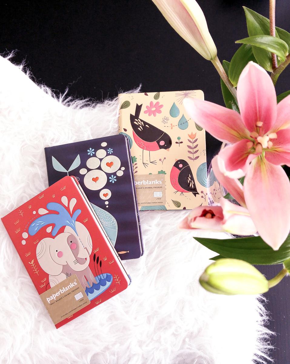 Paperblanks Notizbücher: Tierfreunde von Tracy Walkers