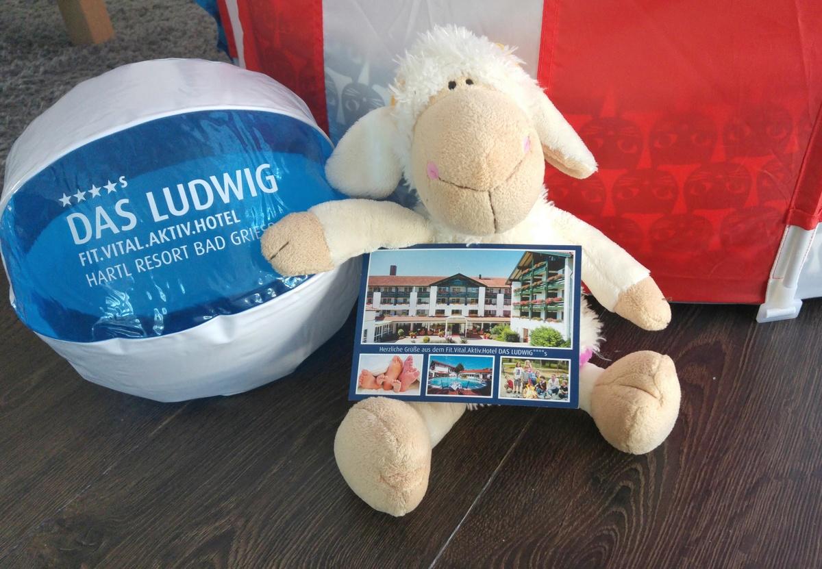 Urlaub für gestresste Kuscheltiere im Familien- und Sporthotel DAS LUDWIG in Bad Griesbach Bayern