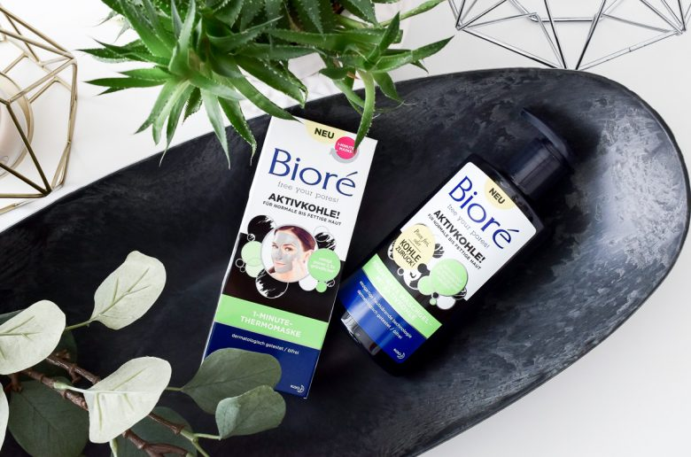Bioré Erfahrungen Aktivkohle Maske und Waschgel sowie Backpulver gegen Haut Unreinheiten große Poren und Pickel bei dm kaufen und testen