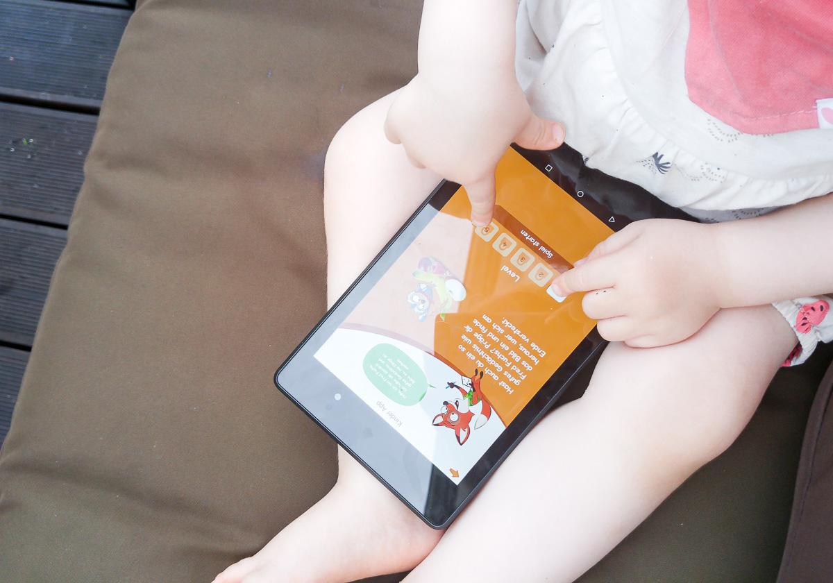 HiPP Kinder App für Kleinkinder im Test I need sunshine Mamablog