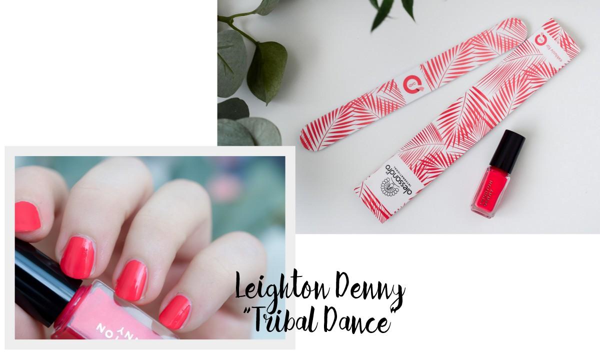 QVC Beauty Box Juli 2017 Miriam Jacks Sommer Edition Inhalt und Marken Leighton Denny Tribal Dance Nagellack & alessandro Nagelfeile exklusiv für QVC