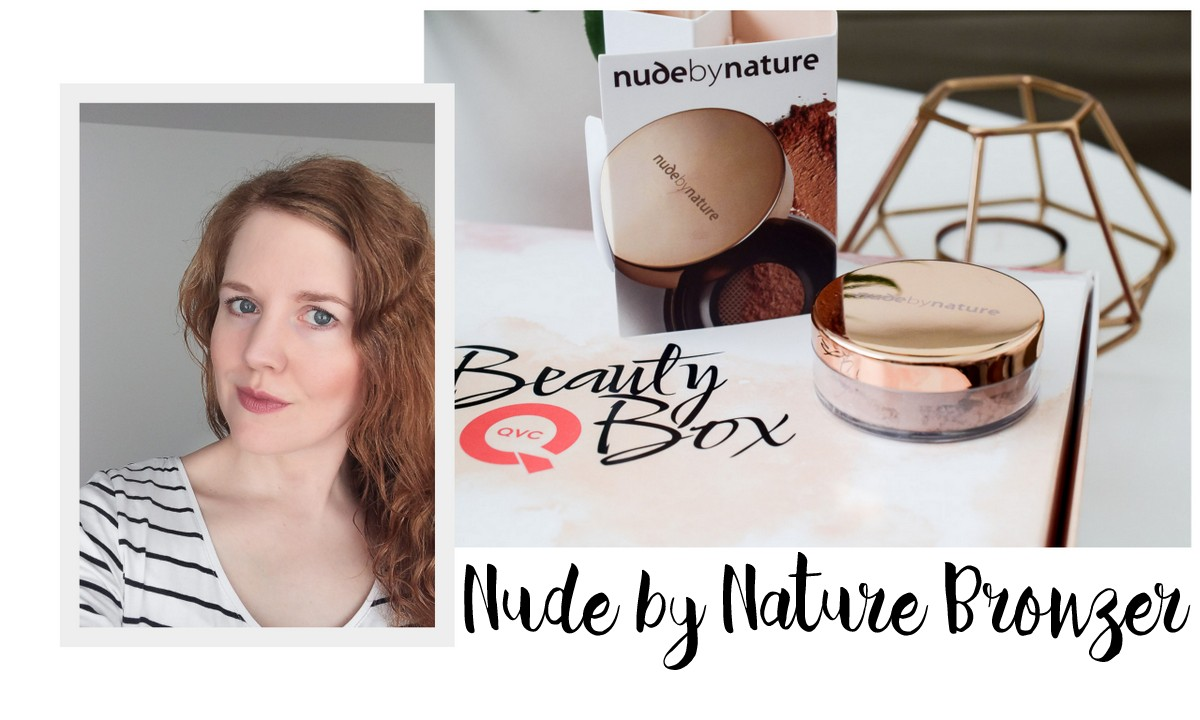 QVC Beauty Box Juli 2017 selected by Miriam Jacks Nude by Nature Natural Glow Loose Bronzer Bondi Bronze