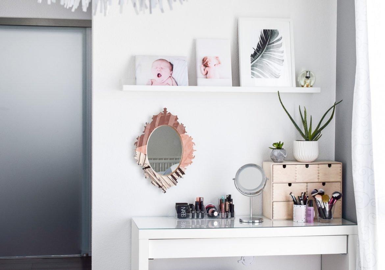 schminktisch ideen 5 tipps f r aufbewahrung deko. Black Bedroom Furniture Sets. Home Design Ideas