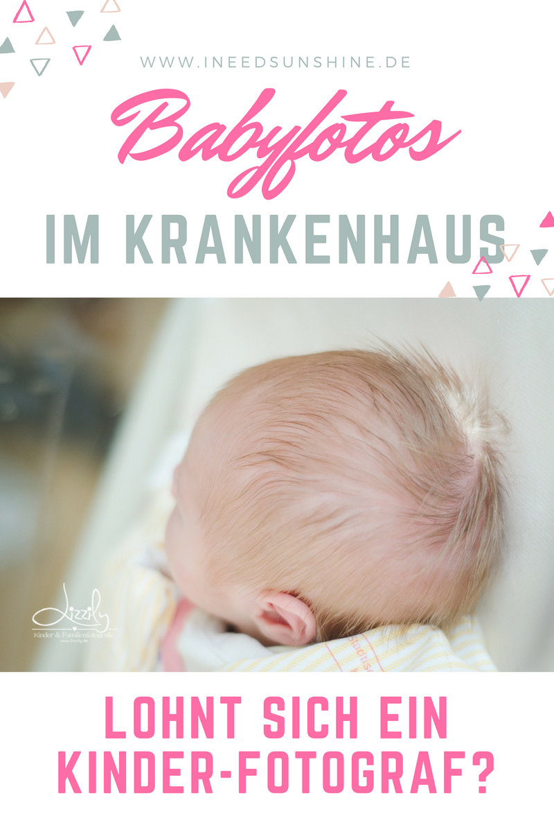 Babyilder Krankenhaus Neugeborenenbilder Fotograf