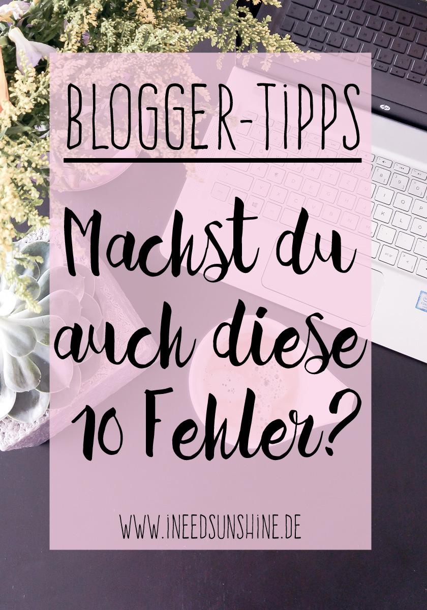 Blog erstellen Tipps Bloggen anfangen und Anfängerfehler vermeiden um erfolgreich und richtig zu Bloggen