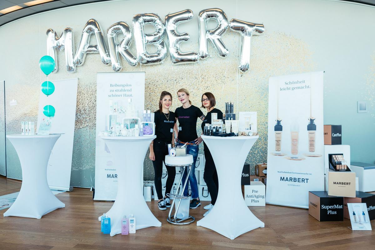 Blogger Event Köln Beautypress Beautyblog Einladung ins Köln Sky für Beauty Neuheiten und Trends Marbert
