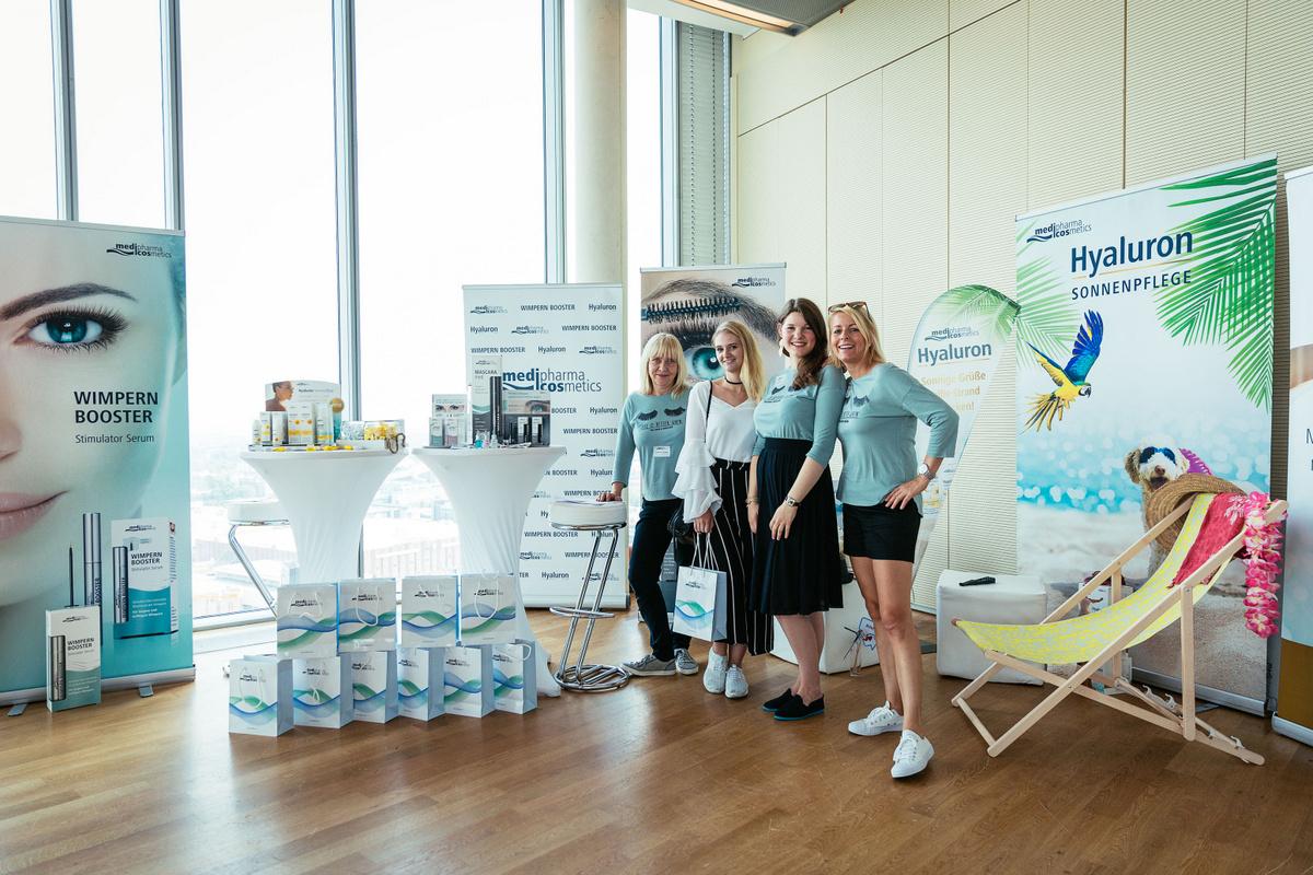 Blogger Event Köln Beautypress Beautyblog Einladung ins Köln Sky für Beauty Neuheiten und Trends Medipharma