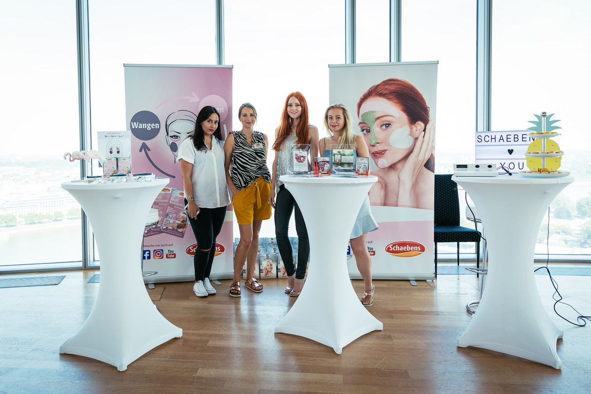 Blogger Event Köln Beautypress Beautyblog Einladung ins Köln Sky für Beauty Neuheiten und Trends Schaebens