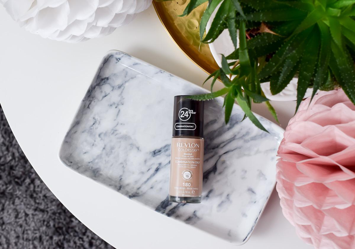Revlon ColorStay Foundation Farben Sand Beige Makeup Mischhaut Ölige Haut Rossmann Drogerie kaufen Erfahrungen Test Review Beautyblogger I need sunshine