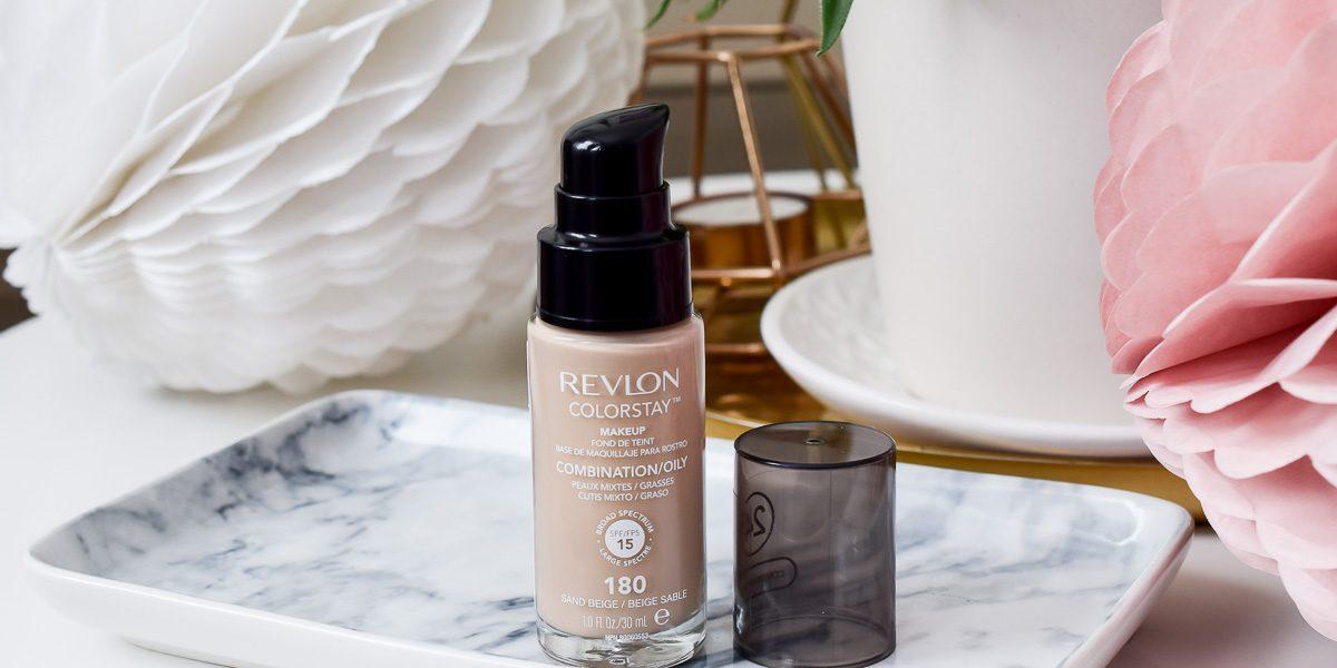 Revlon Colorstay Foundation Sand Beige bestes Makeup bei Rossmann Deutschland kaufen Review Erfahrungen Swatches Farben für schöne Haut bei Mischhaut ölige Haut auf I need sunshine Beautyblog