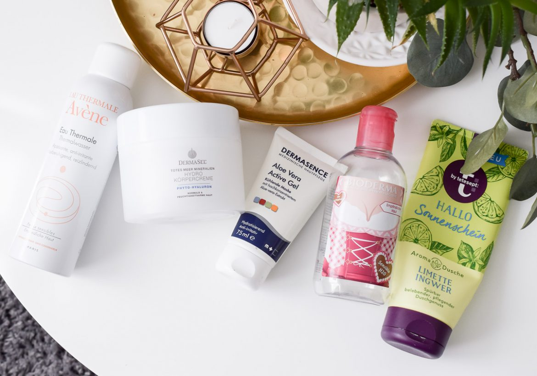 Kosmetik aufgebraucht auf Beauty Blog Juli 2017 Pflege Hautpflege Reviews im Test