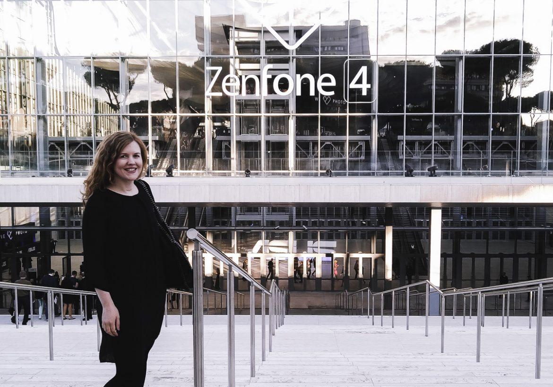 ASUS ZenFone 4 Selfie Pro Smartphone beim Launch Event in Rom und Fotografie Tipps für bessere Selfies und Handy Bilder