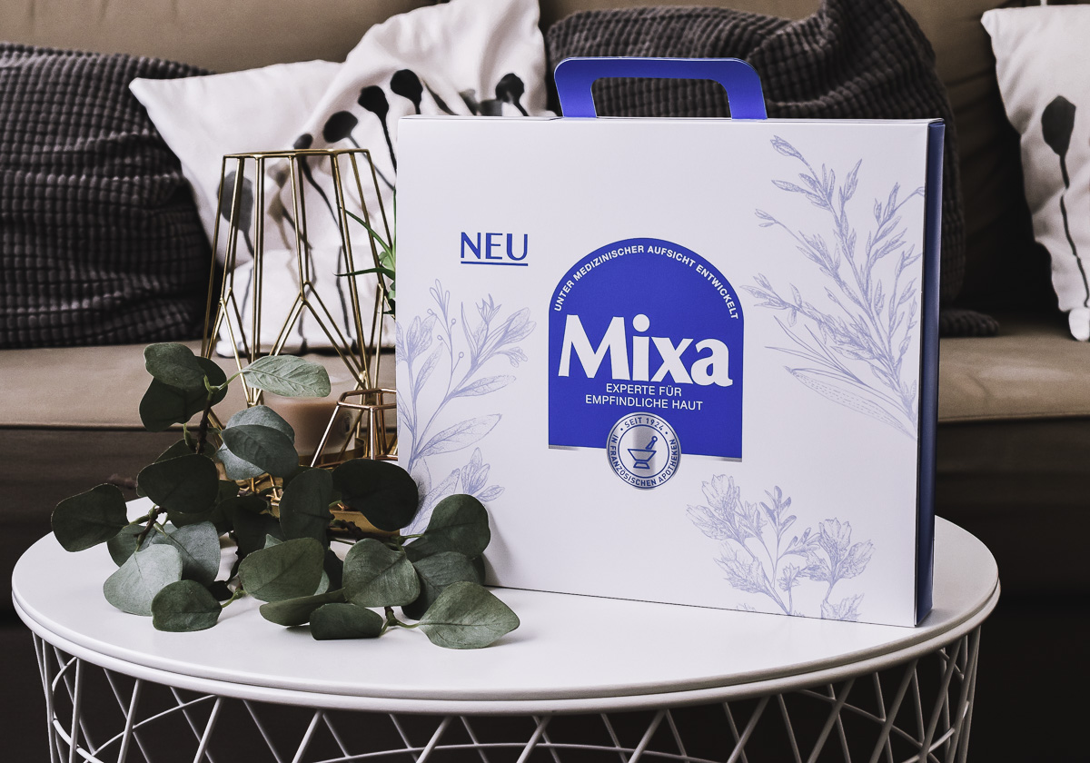 Mixa Kosmetik Produkte empfindliche Haut Gesichtspflege Bodylotion Cica Creme Erfahrungen