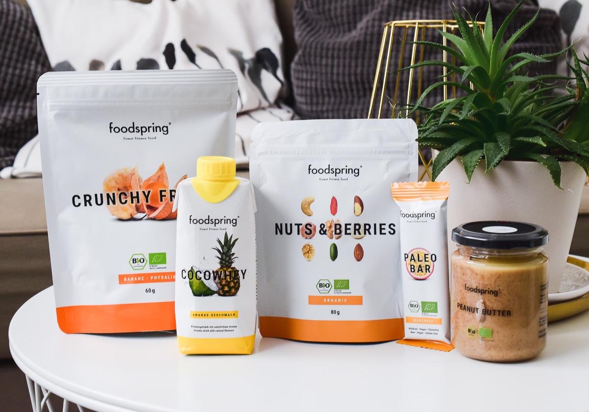 foodspring Adventskalender 2017 Inhalt Preis für wen lohnt er sich was ist drin und wo kaufen