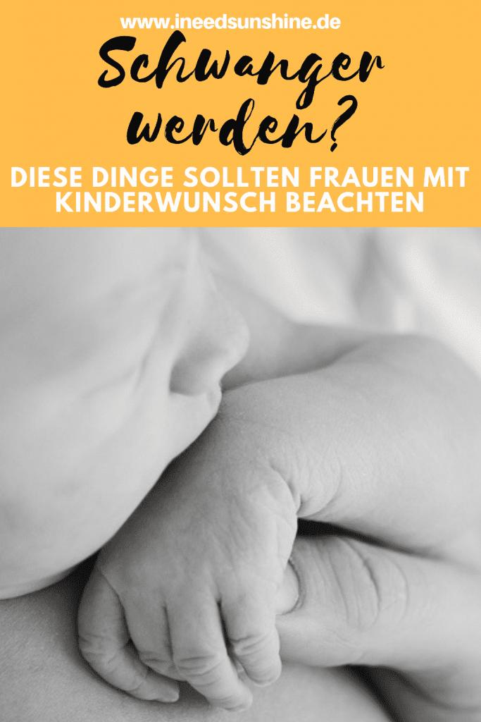 Was müssen Frauen mit Kinderwunsch bei der Babyplanung vorab beachten, Tipps für Frauen mit Kinderwunsch und Unterschied zwischen Folat und Folsäure auf Mamablog I need sunshine