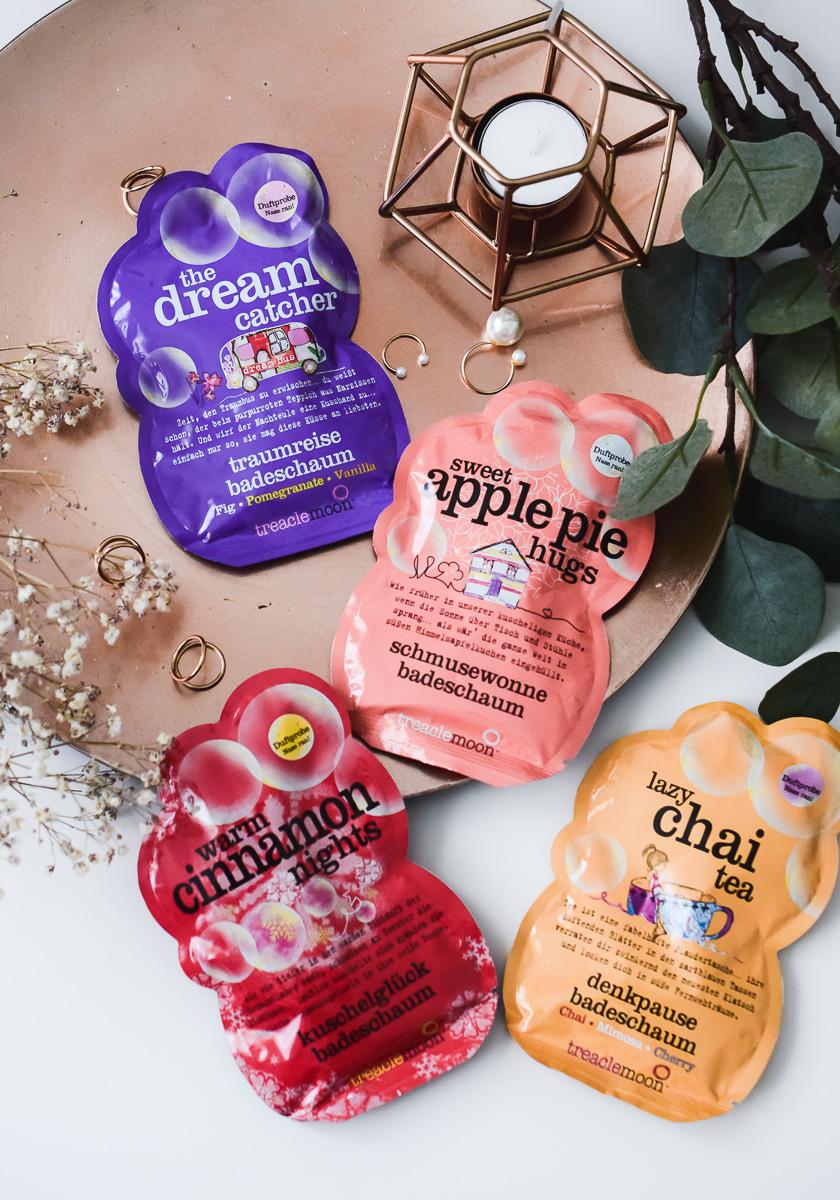 treaclemoon Badeschaum neue Produkte im Test alle Sorten und Duft Beschreibungen des neuen Schaumbades