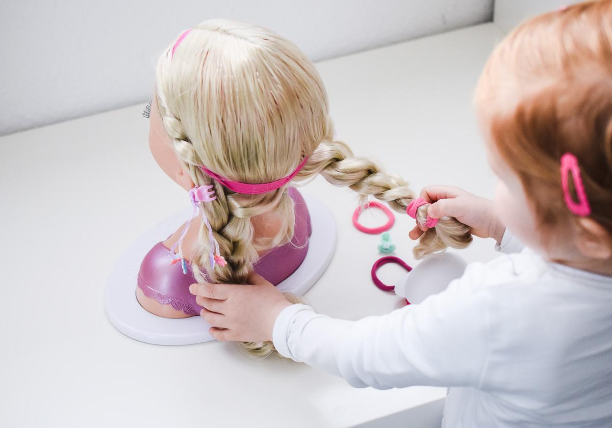Baby born Sister Styling Head im Test Erfahrungen Schminkkopf Frisierkopf Maedchen Geschenk Idee Weihnachten Geburstag