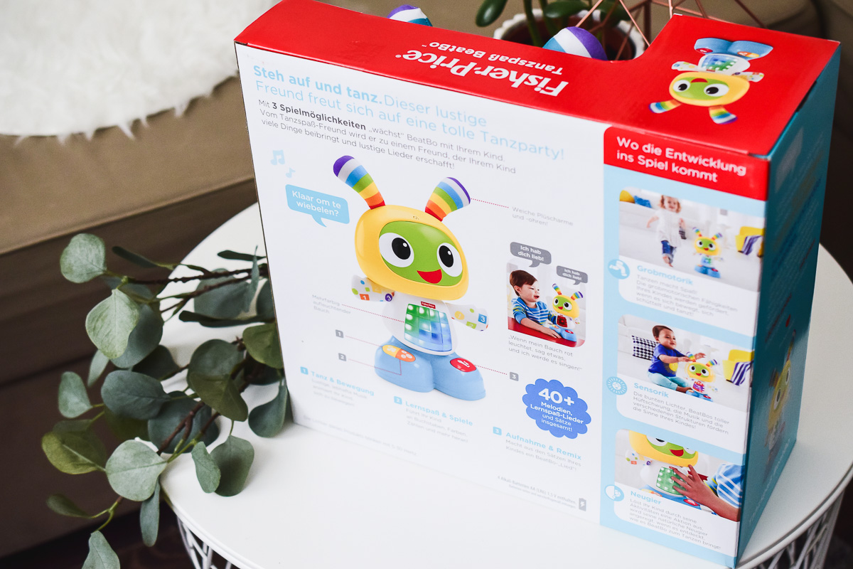 Tanzspaß BeatBo von Fisher Price Erfahrungen Test Anleitung Geschenkidee Weihnachten Kleinkind Babys Kinder