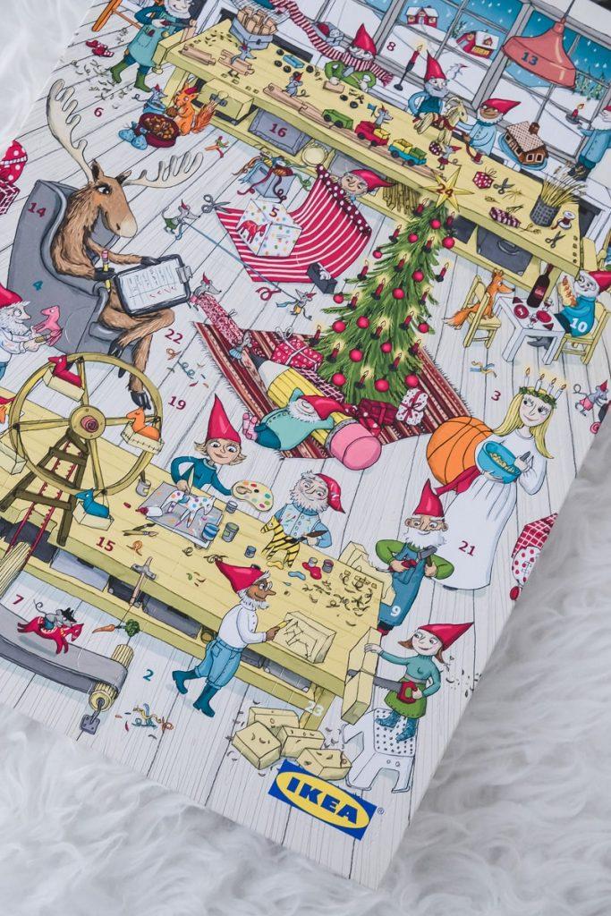 Ikea Adventskalender 2018 im Test und Erfahrungen ab wann erhältlich welche Gutschein Wert und Inhalt