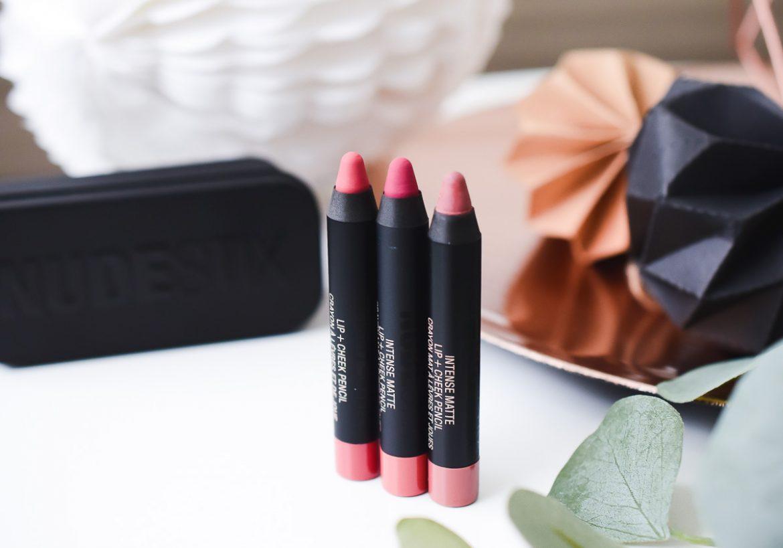 Nudestix Lip & Cheek Pencil Erfahrungen Test Review Farben Sin Kiss Purity Nude Lippenstifte