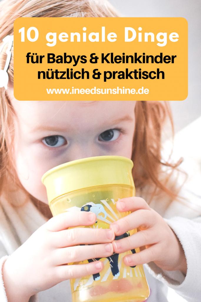 Praktische Dinge Babys und Kleinkinder nützliche Helfer Familienleben im Alltag mit Kindern auf Mamablog I need sunshine