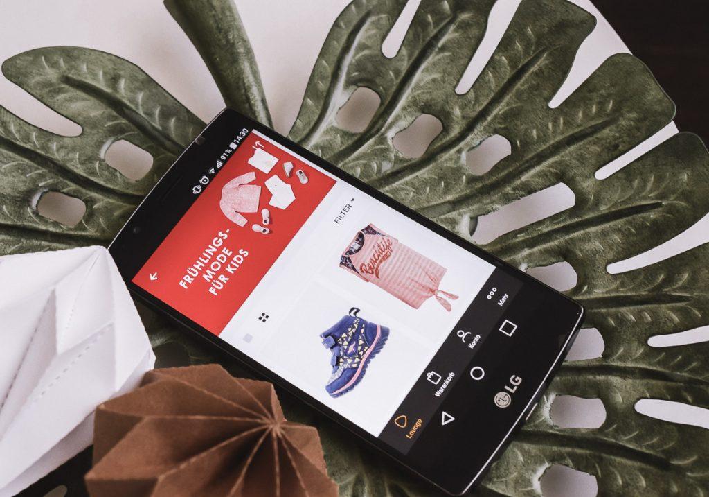Zalando Lounge App Erfahrungen Testberichte sparen Schäppchen Kindermode Kinderschuhe Marken Gutschein Versandkosten Größe Retouren Rücksendung