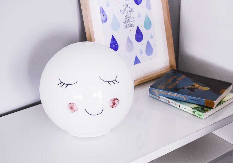diy nachtlampe mit timer smart home im kinderzimmer. Black Bedroom Furniture Sets. Home Design Ideas