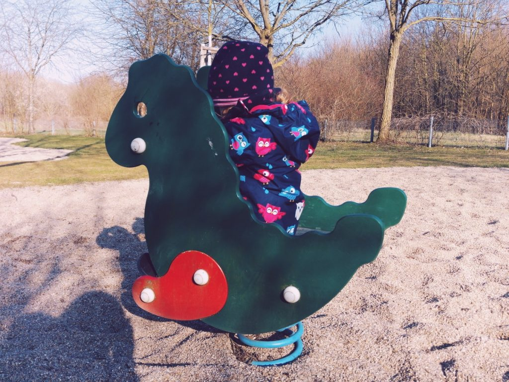 Frühling Karlsruhe Spielplatz Mamablogger Familienblog