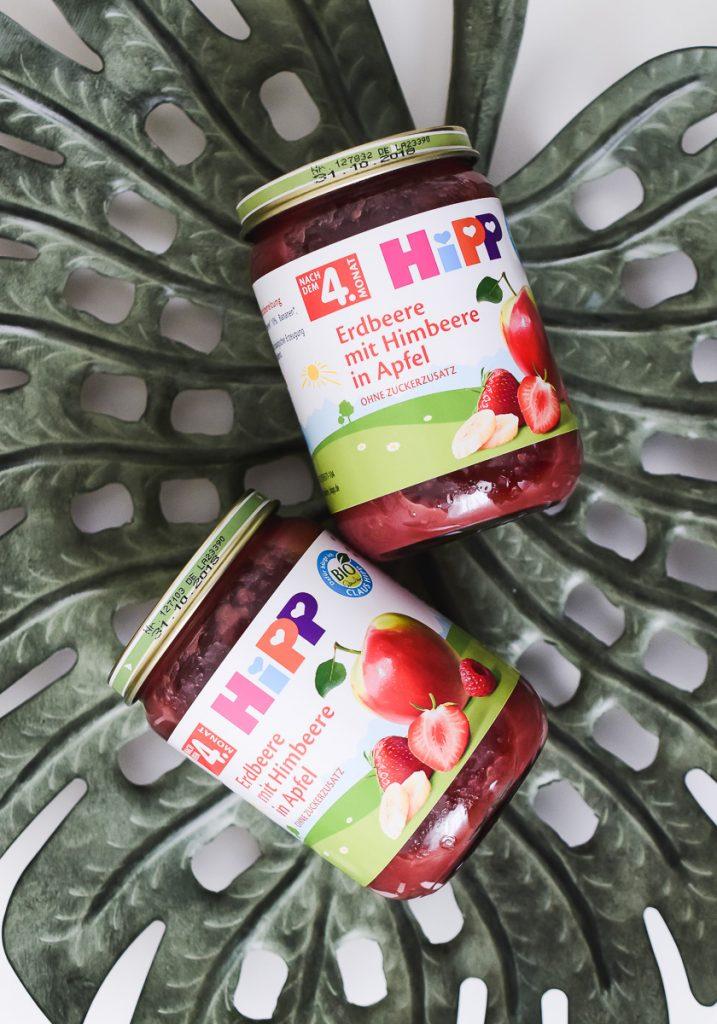 HiPP Früchte-Gläschen Beikost Erfahrungen Tipps Obstbrei selber machen oder kaufen Hippgeschmackstest Babynahrung Spurenelemten Vitamine